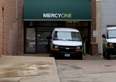 MercyOne Awning