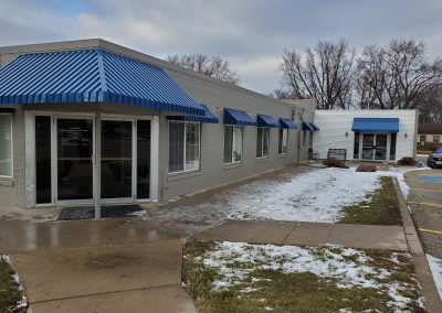 Aluminum Awnings Royal Blue