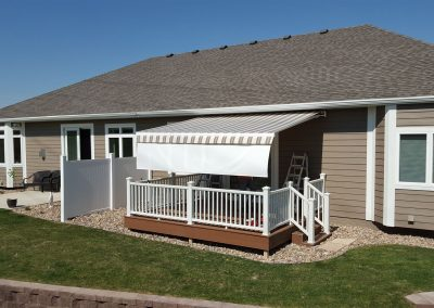Retractable Awning White